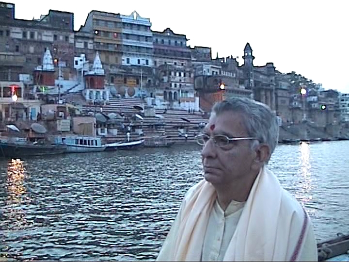 Visit to ghats of Kashi with Guru ji